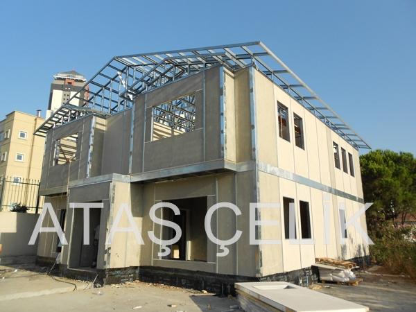 muratlı çelik ve prefabrik evler